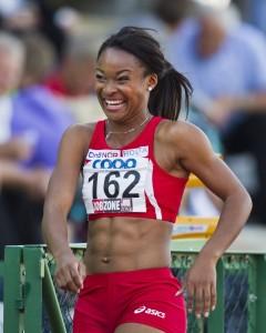 Ezinne Okparaebo, sprint