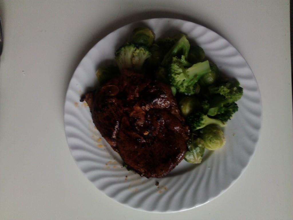 Lammelår med masse brokkoli