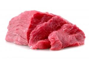 Rødt kjøtt er en god kilde til jern. Bilde: Colourbox