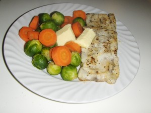 Fisk til middag, enkelt og greit!