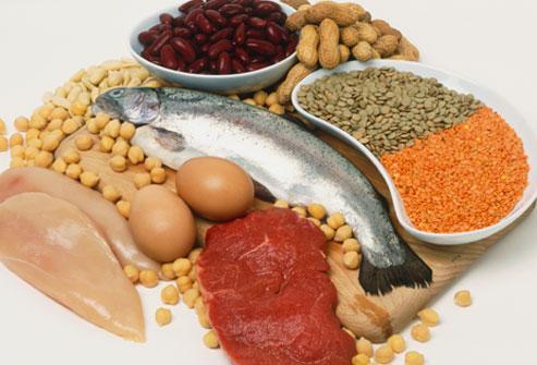 Madvarer med protein