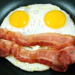 egg og bacon