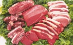 Ingredient's of fresh meat ready to cook on barbecue