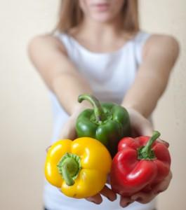 Hvilken paprika mener du er best? Kanskje placebo spiller en rolle også her? Bilde: Colourbox