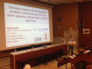Fra min presentasjon i Frankrike